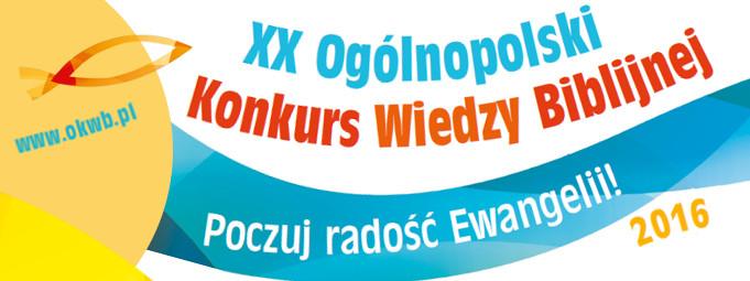Ogólnopolski Konkurs Wiedzy Biblijnej – Radom